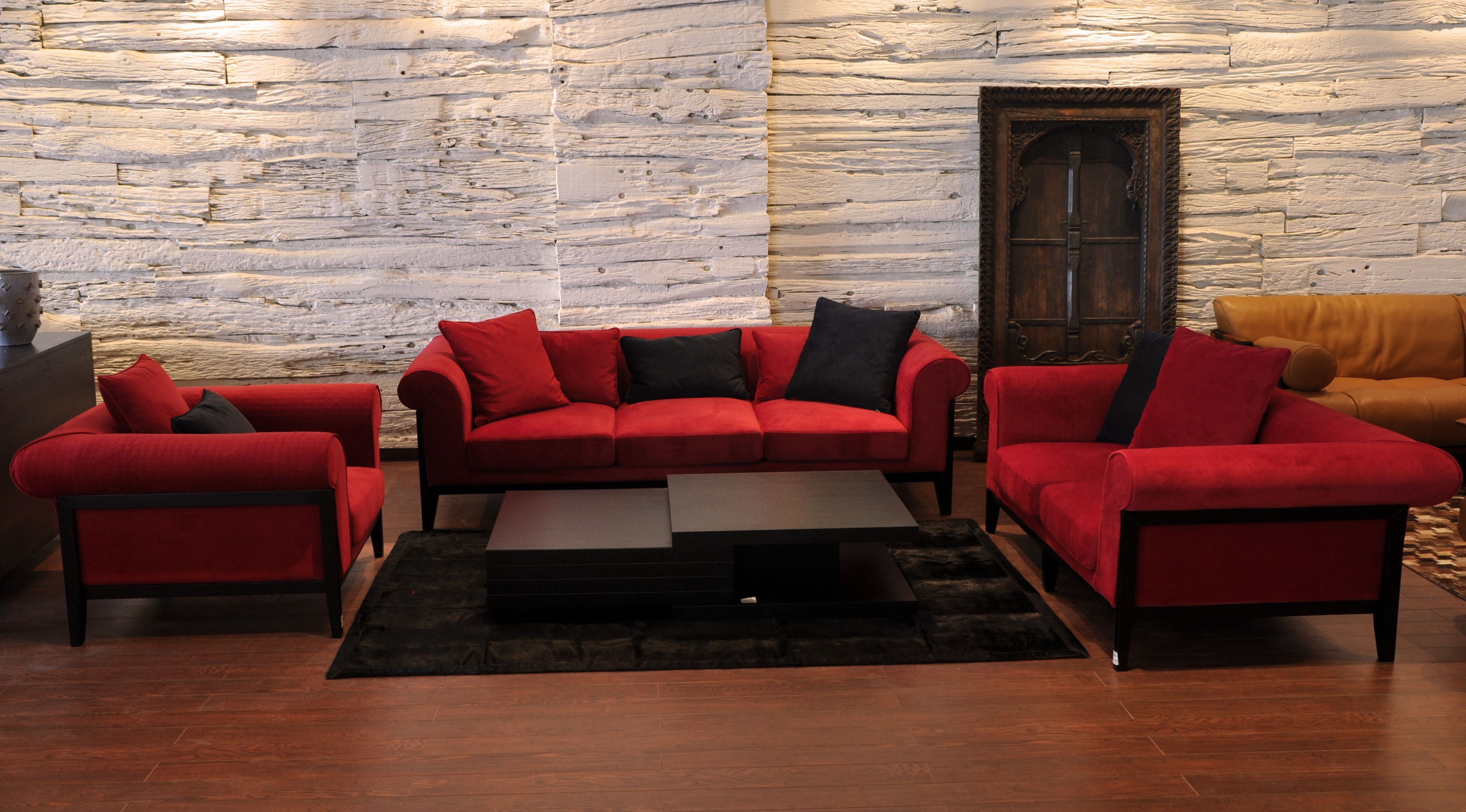 MIMOSA SOFA With its simple classic design this sofa brings a
