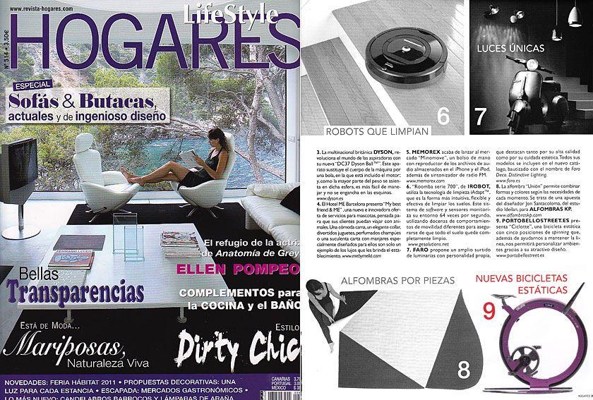 Revista LifeStyle Hogares - Enero 2012 Pagina 39
