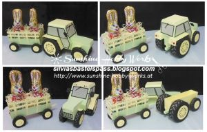 Mann - Sunshine Hobby Works - Page 1 of 2 SVG download to buy DIY tractor and trailer with chocolate bunny insert