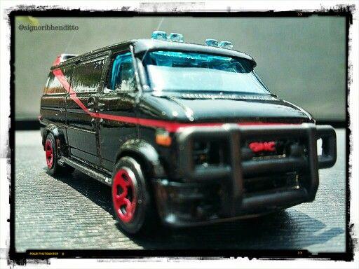 Hot Wheels GMC Panel Van (A Team)