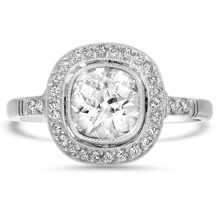 a681c3598 The Adelfa Ring | wedding rings | Vintage diamond rings, Rings, Diamond