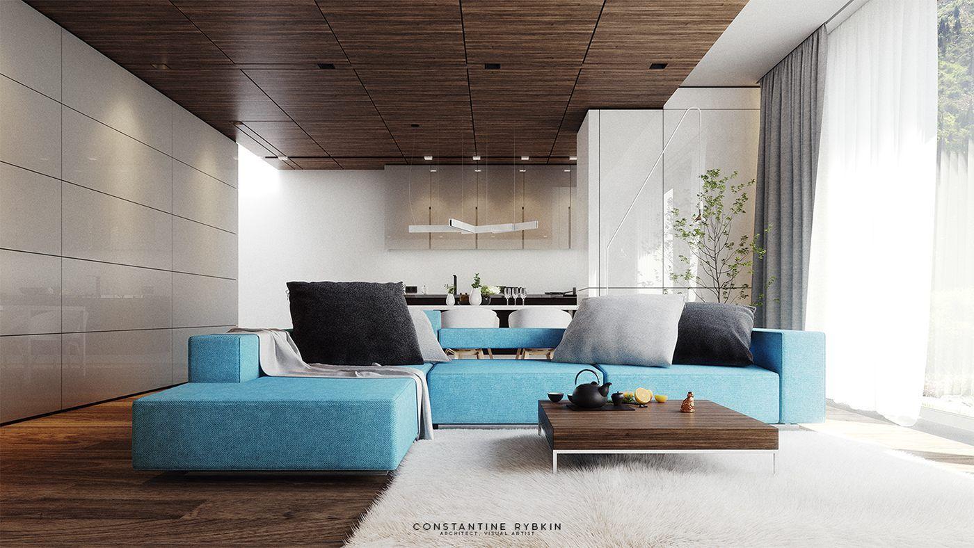 7 Stylish Living Rooms Design Shows Modern Shades   Einrichtung und ...
