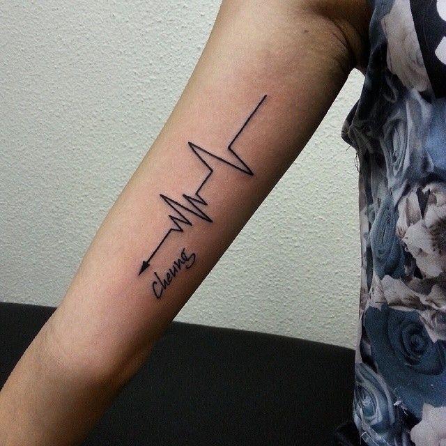 Risultati immagini per hart bit arrows tattoo man