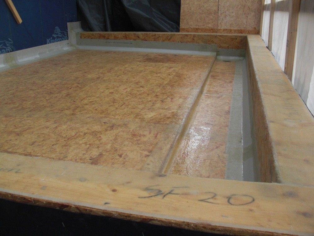 Flat Roof Cover In Fibreglass By Bautech Construction New House At Knocknagoug Quin Co Clare