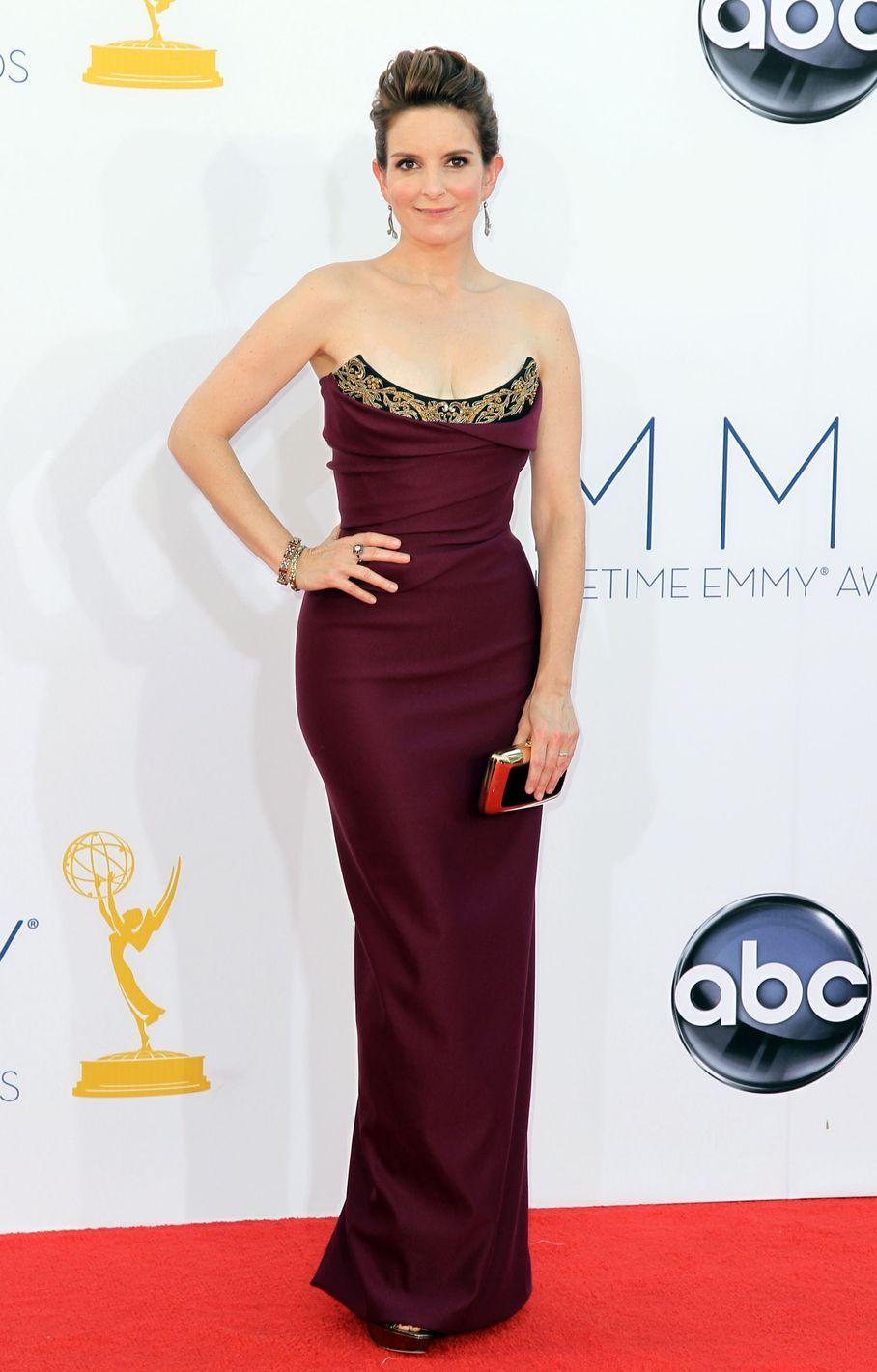 Tina Fey - 2012 Emmy Awards