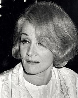 Marlene Dietrich during Marlene Dietrich Sighting at Rainbow Room Party - October 9, 1967 at Rainbow Room in New York City, New York, United States.