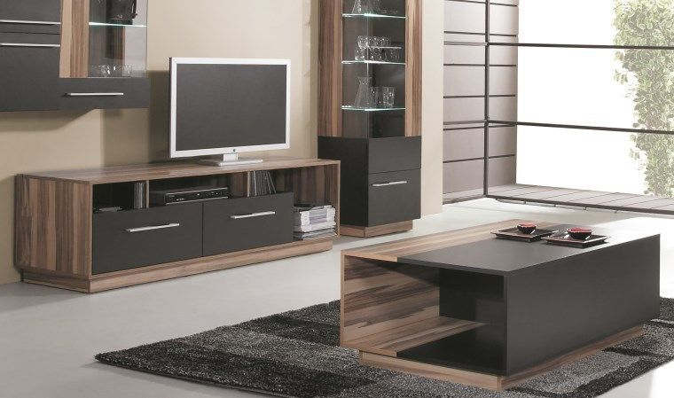 Pack Meuble Tv Table Basse Black Home Decor Furniture Home