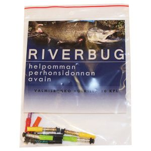 RiverBug tube fly body tubes for easy fly tying. #motonet #riverbug