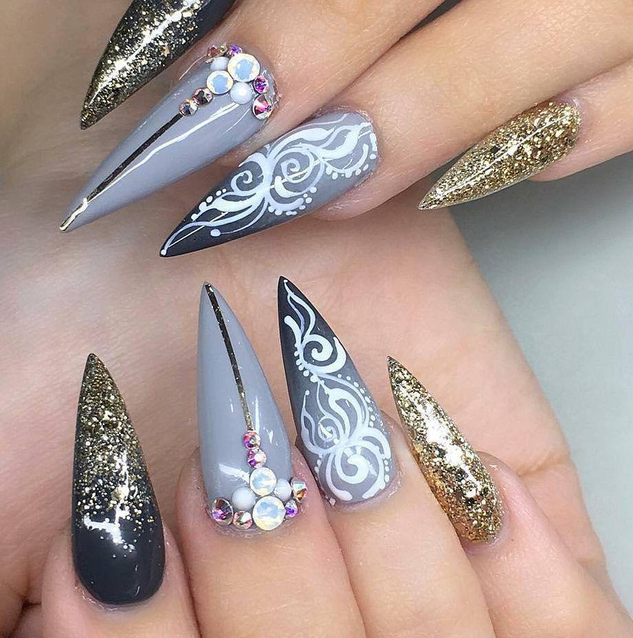 100+ Nails Art Ideas // Acrylic Nails // Fashion And Beauty Ideas ...