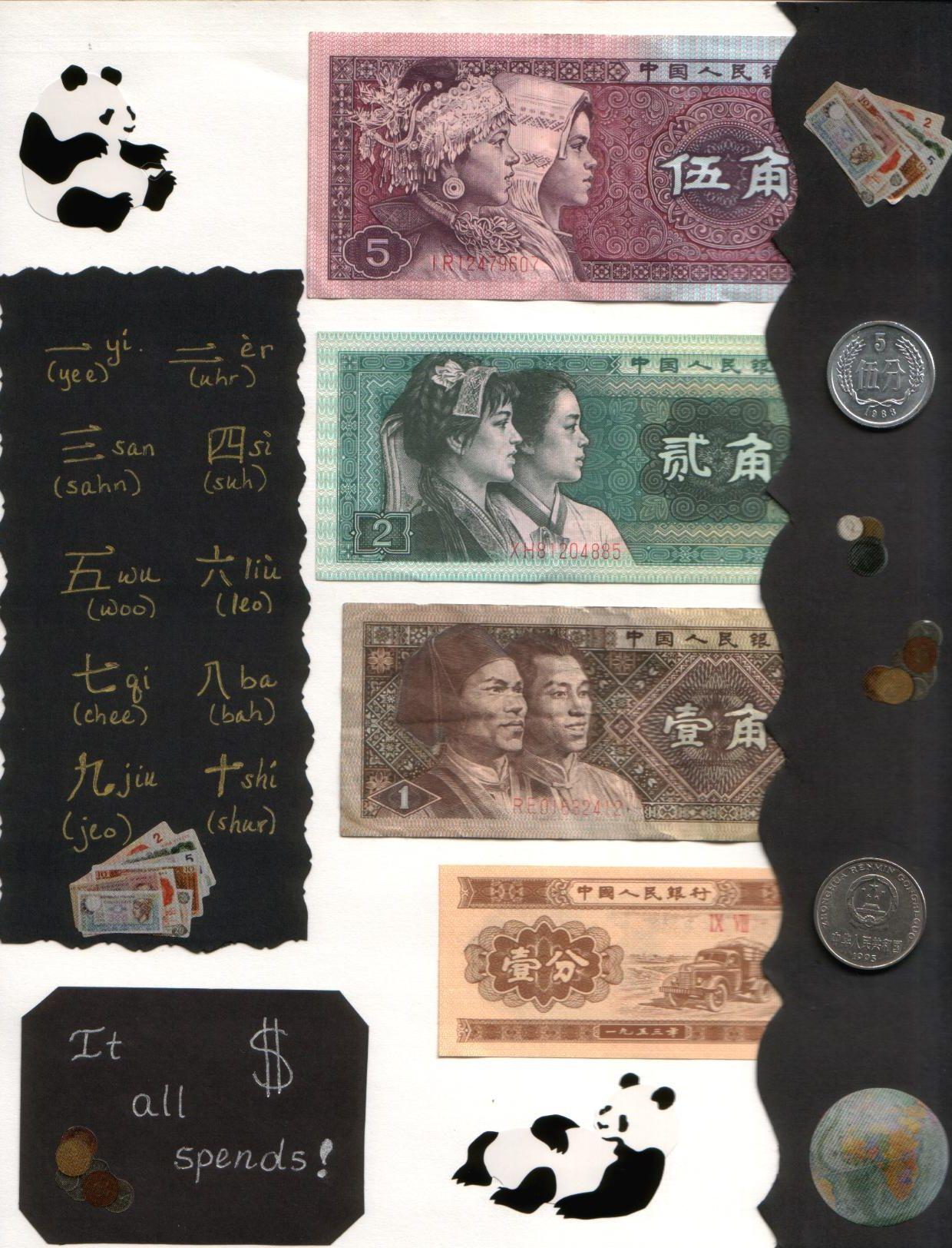 Scrapbook ideas china - China Trip Money Scrapbook Com