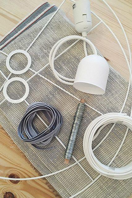 DIY To Try: Koushi-Inspired Lamp -   taklampa diy Lamp