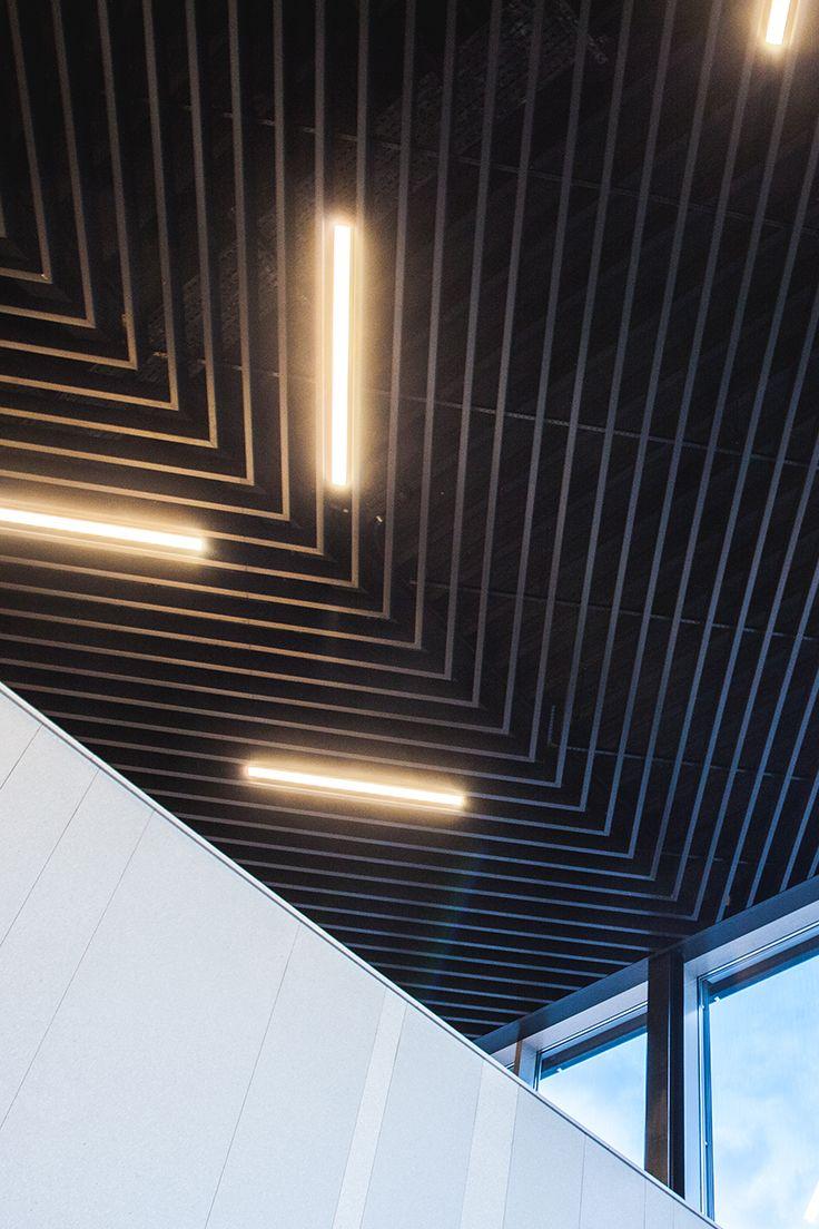 Aluminium Baffle Ceiling Design Inspiration Architecture