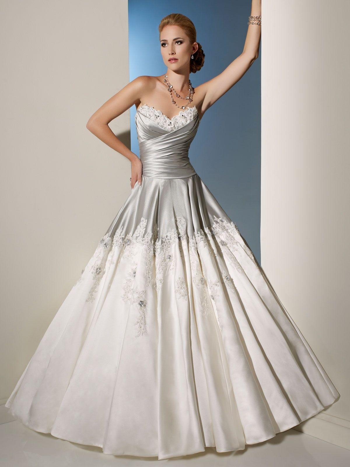 Silver bodice wedding dress wedding dress pinterest bodice
