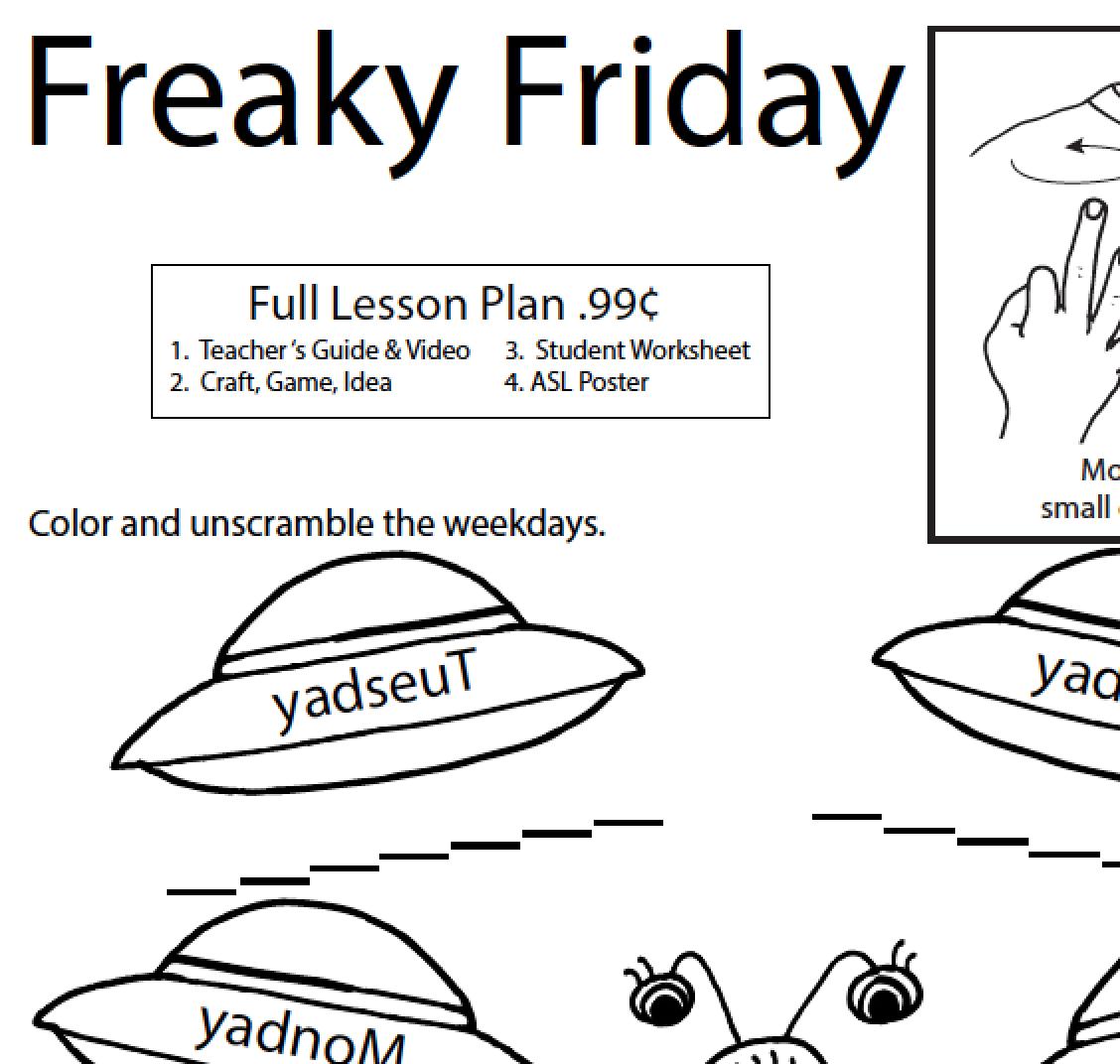 Lesson Plan Friday