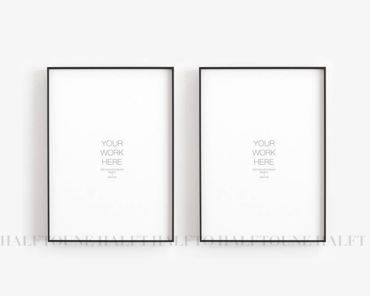 White Wall Background INSTANT DOWNLOAD Poster Mockup Stock 5x7 Horizontal Canvas Paper Wall Mockup Styled Stock Photography Mockup