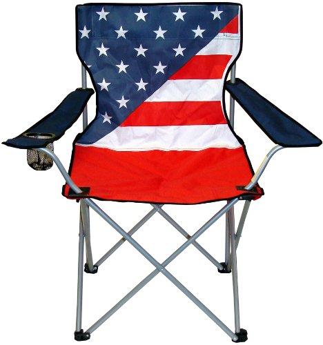 【楽天市場】折りたたみチェアー 海に山に 椅子 チェアー ブルー レッドの星条旗 模様 Northwest