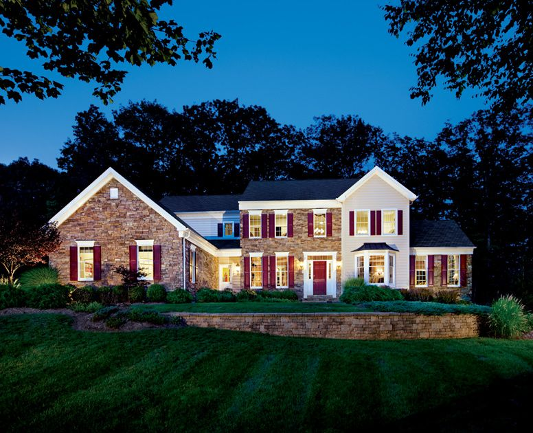 Hopewell At Morris Hunt Luxury New Homes In Flanders Nj House Design New Homes Pretty House
