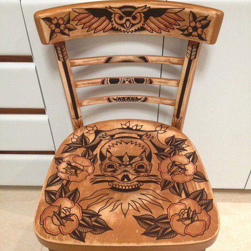 Una silla de stas no debe ser muy cara ademas alg n for Sillas para tatuar