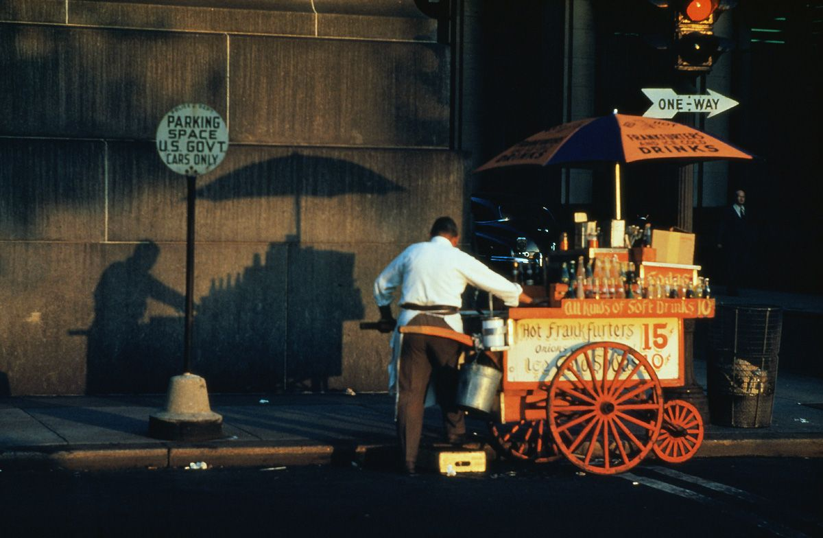 ERNST HAAS, NY 1953