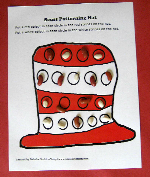 Cat in the Hat Math Activity Mats by JDaniel4's Mom (With