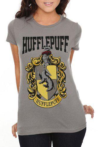 HARRY POTTER Girls Hogwarts House Crests T-Shirt