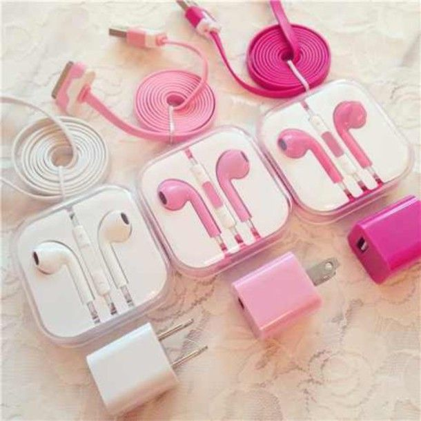 Find Out Where To Get The Earphones Apple Mobile Phones Headphones Pink Mobile