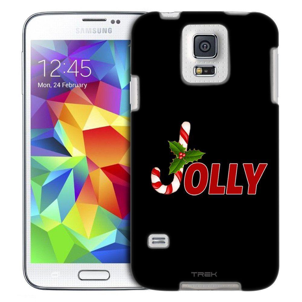 Samsung Galaxy S5 Jolly on Black Slim Case