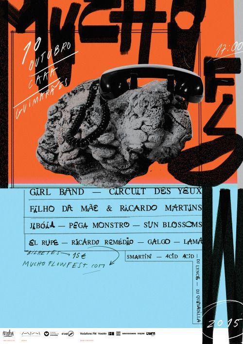 braulioamado: Mucho Flow 2015 Poster