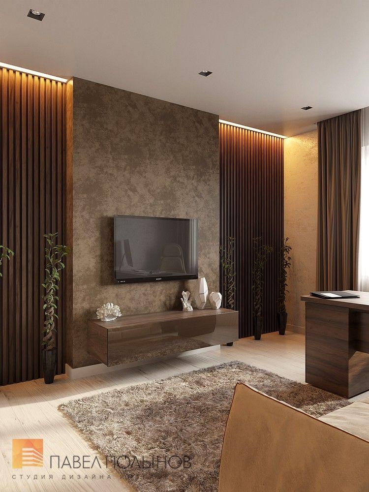 Фото интерьер кабинета из проекта «Квартира в современном ...