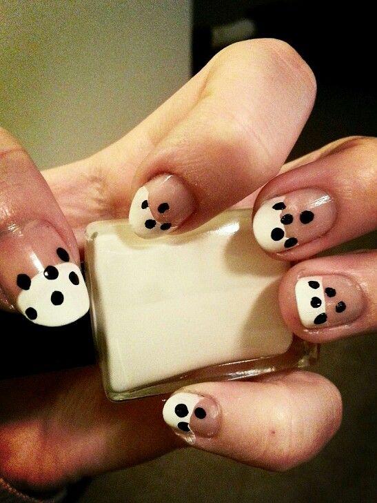 Dalmation nails