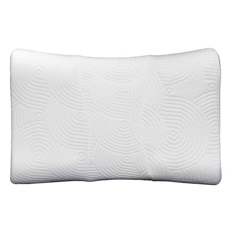 Tempur Ergo Advanced Neck Relief Firm Foam Queen Bed Pillow Bed Pillows Pillows Neck Relief