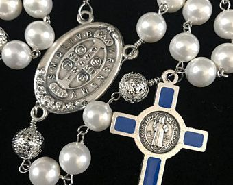 Catholic Rosary Beads Heaven Inspired Handmade by VictoriasSimpleJoys #catholicrosaries Catholic Rosary Beads Heaven Inspired by VictoriasSimpleJoys #catholicrosaries