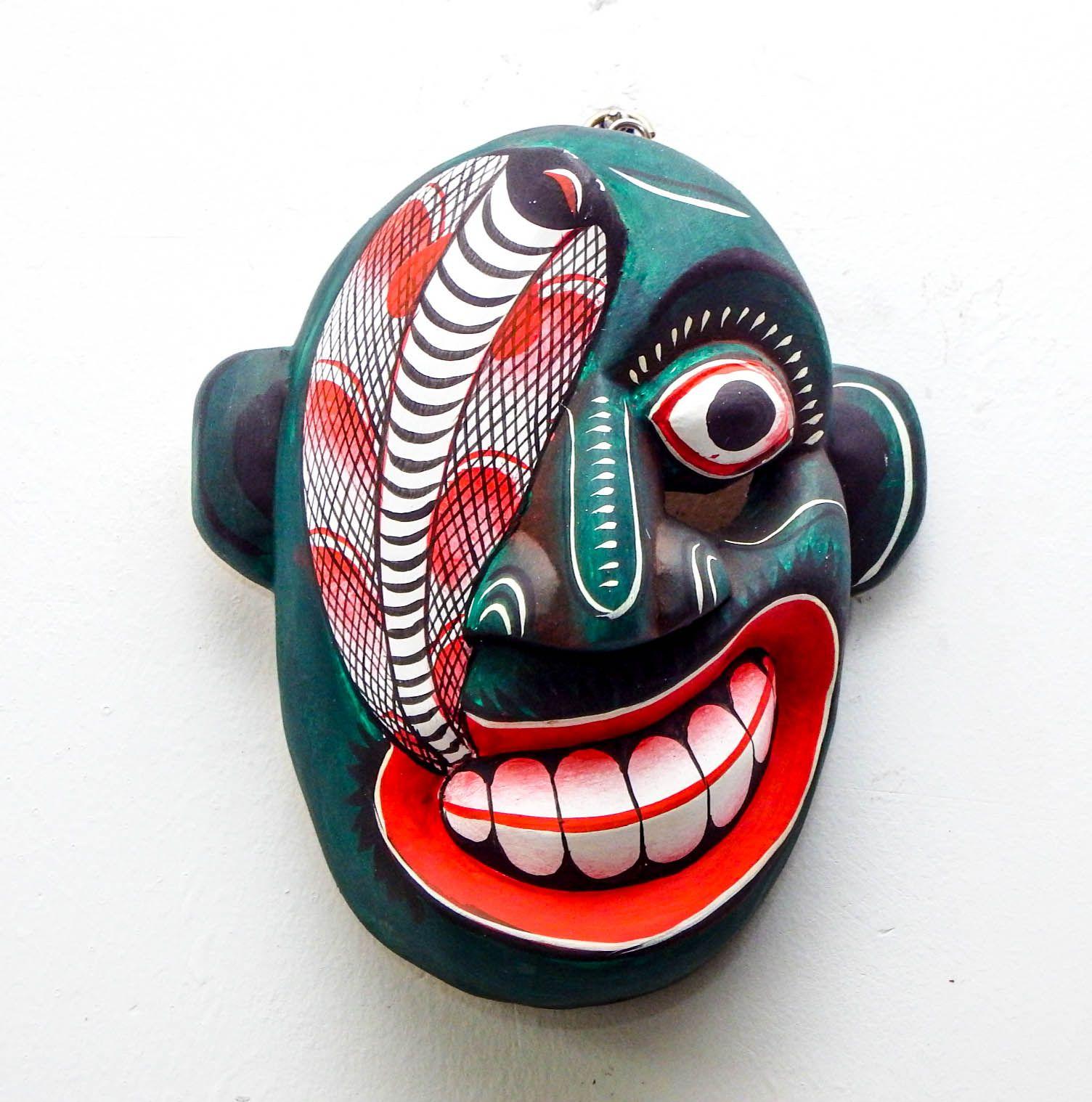 Pin on Sri Lankan Masks, Sculptures & Crafts