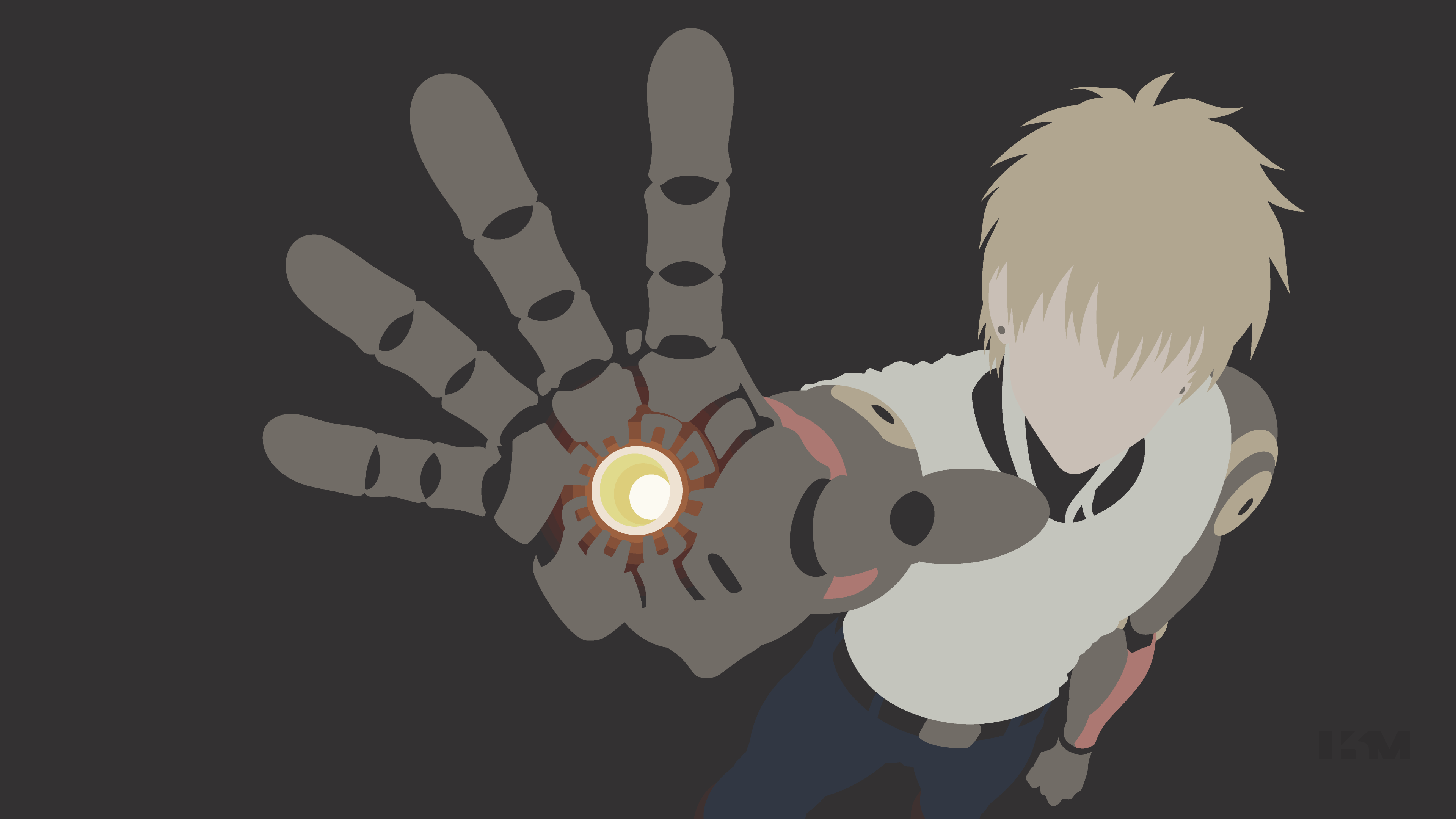 one punch man genos wallpapers background sdeerwallpaper