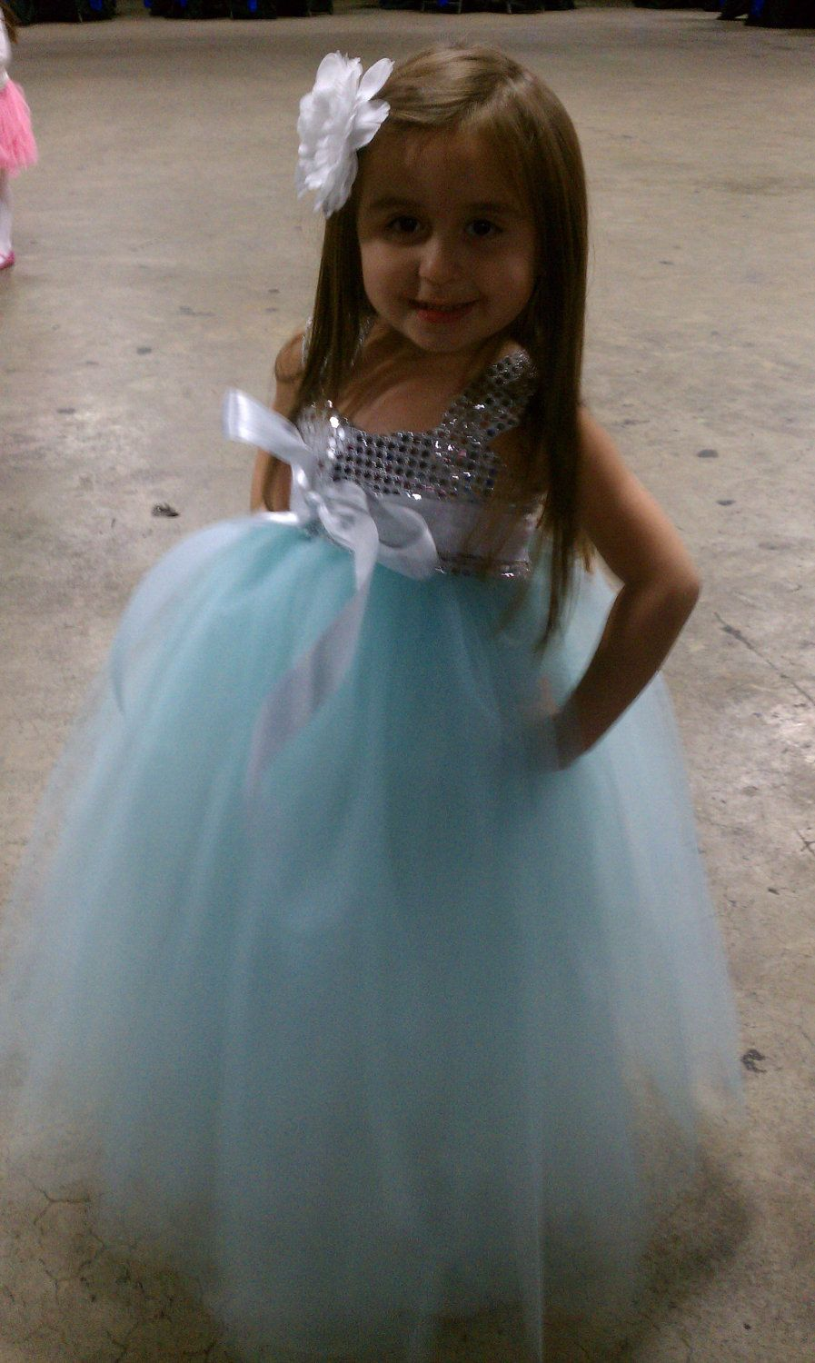 Flower girl birthday special occassion dress for girlstiffany