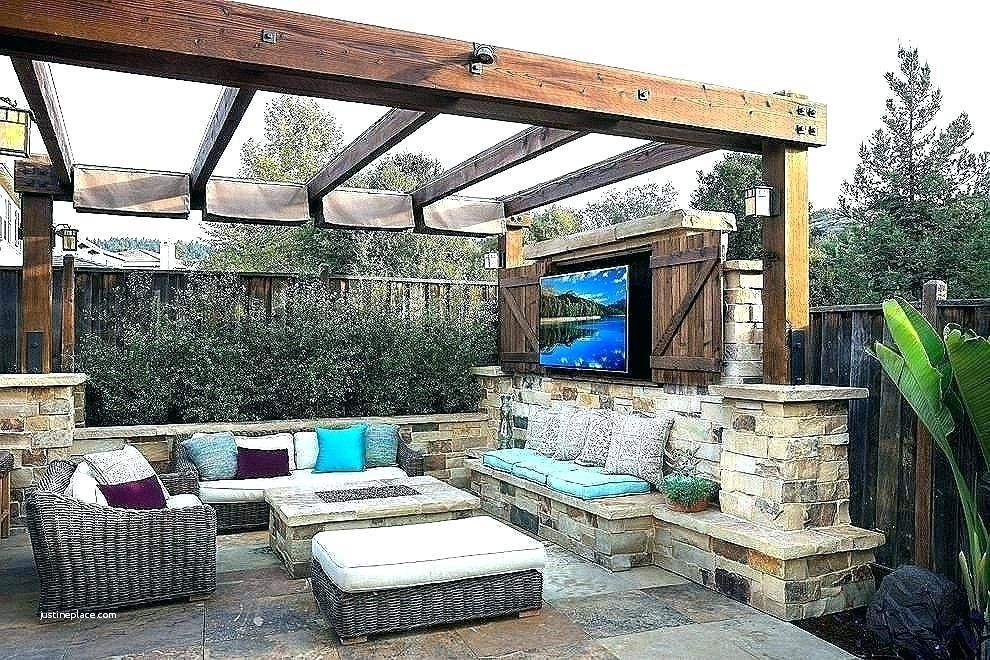 Patio With Fire Pit And Pergola Outdoor Patio Ideas Backyards Backyard Entertaining Small Outdoor Patios