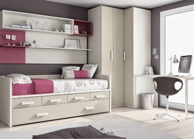 Habitaciones infantiles con armario esquinero articulos - Armarios infantiles ...