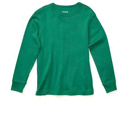 beea762f Leveret Long Sleeve Boys Girls Kids & Toddler T-Shirt 100% Cotton (2 ...
