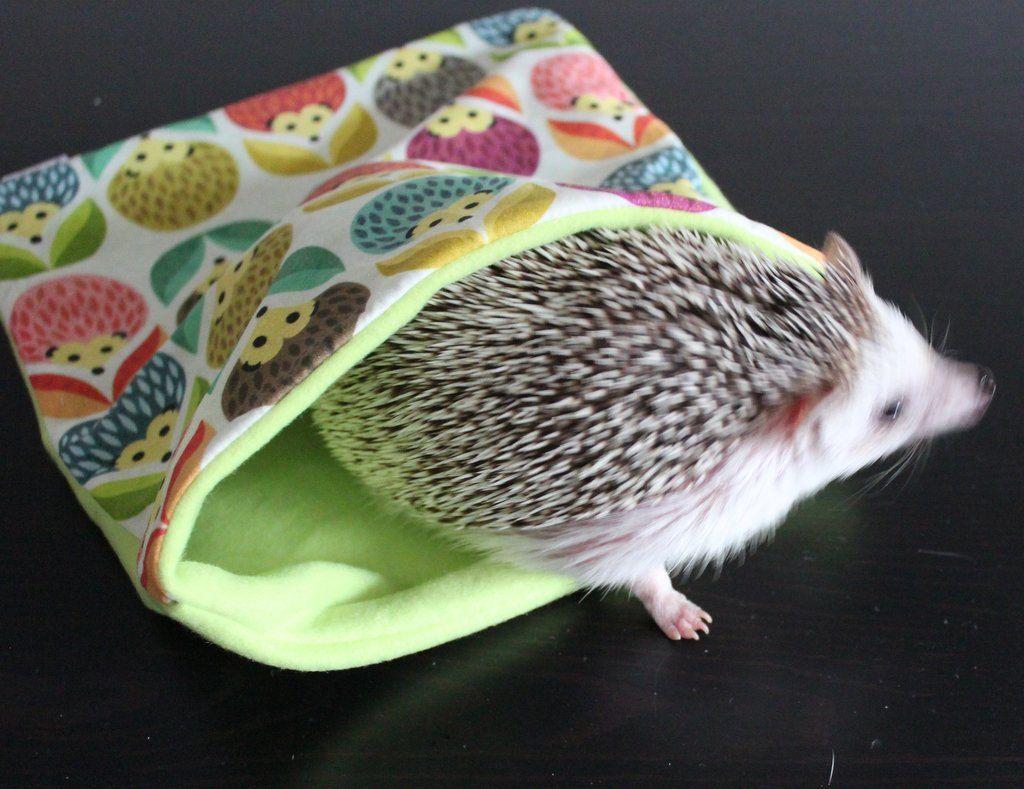 Hedgehog Pattern Snuggle Sack Snuggle Pouch Sleeping Bag Small