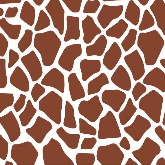 Giraffe print svg Giraffe svg Giraffe pattern Animal Print svg giraffe stencil Giraffe print png Giraffe svg Cut File Cricut Silhouette