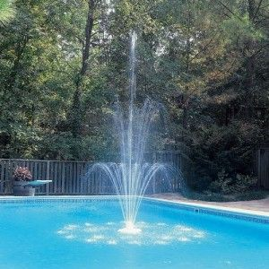 Swimming Pool Fountain Ideas colorful lights Ideas For Your Pool Side Party Or Wedding Swimming Pool Fountain Mazelmoments