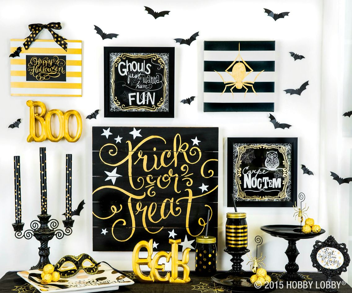 Halloween decor Holidays-Halloween Pinterest Holidays - Hobby Lobby Halloween Decorations