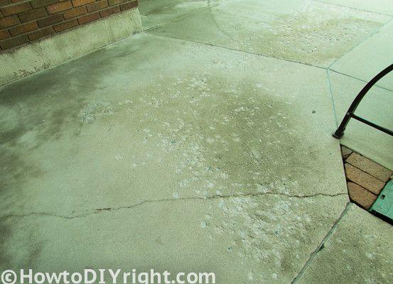 Wonderful How To Restore Concrete Patio