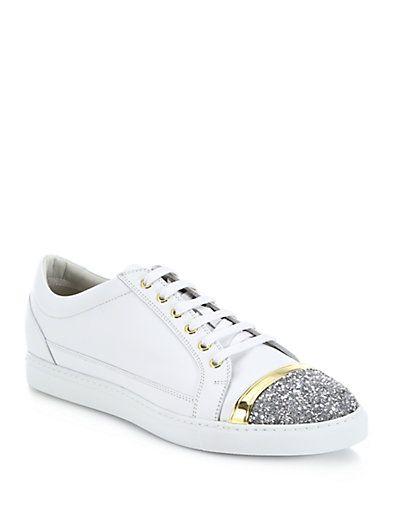 Buying New Mens Louis Leeman Cap Toe Sneakers Get Cheap