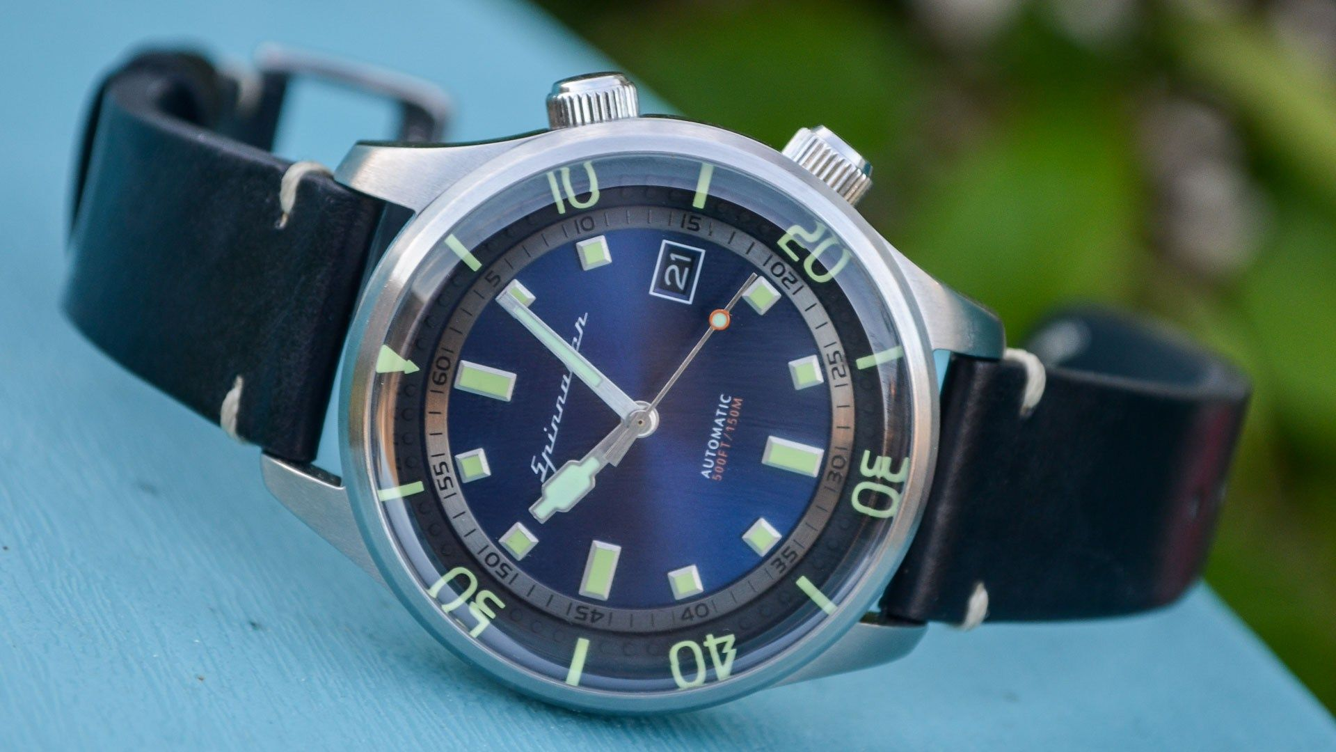 Spinnaker Vintage Bradner Dive Watch Review Private