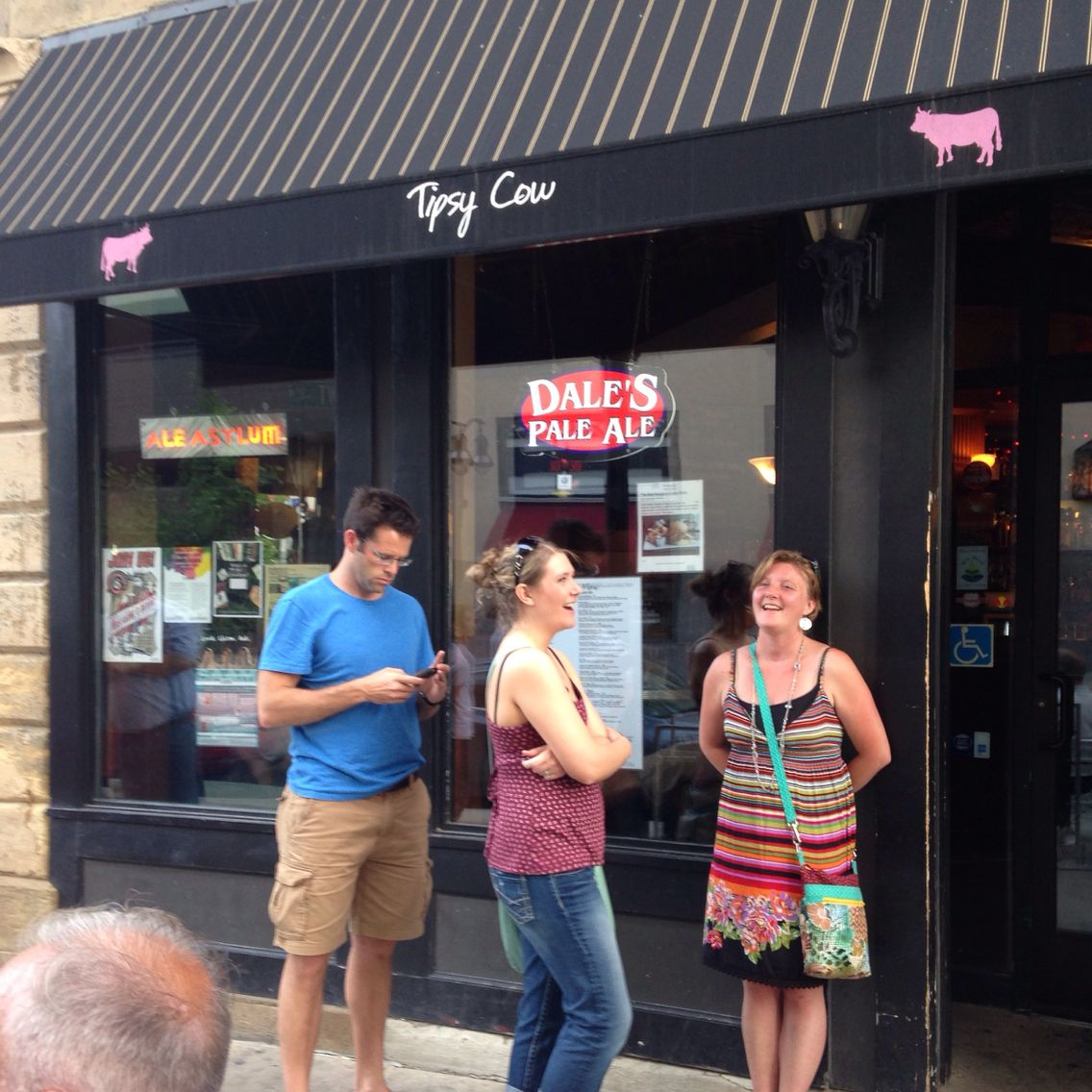 Tipsy Cow Bar Restaurant Downtown Madison Wisconsin