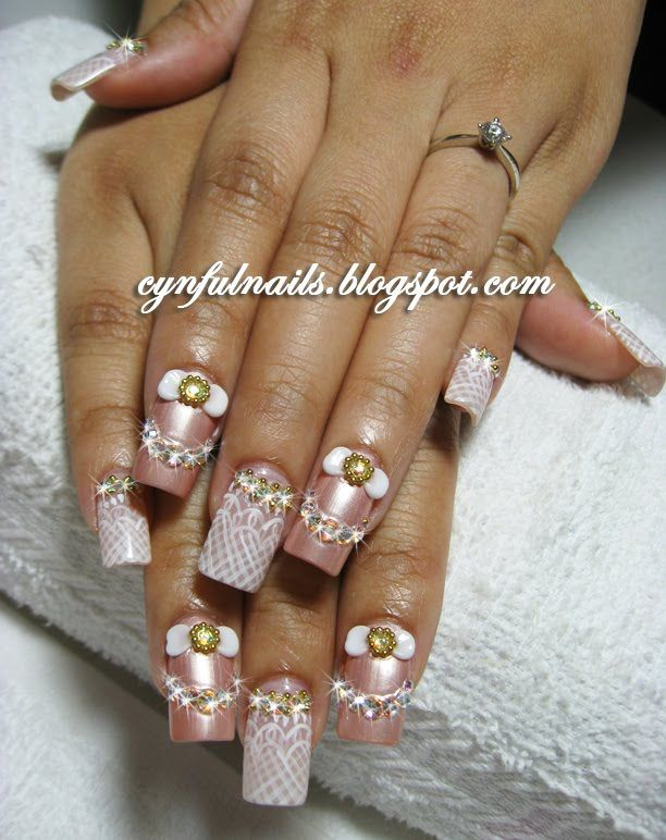 Creative nail designs is not only the polish...its actually using ...