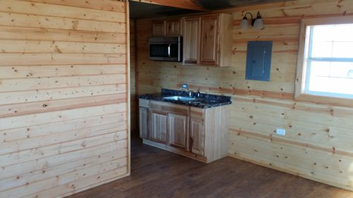 Derksen Factory Finished Out Portable Cabin - Studio Cabin