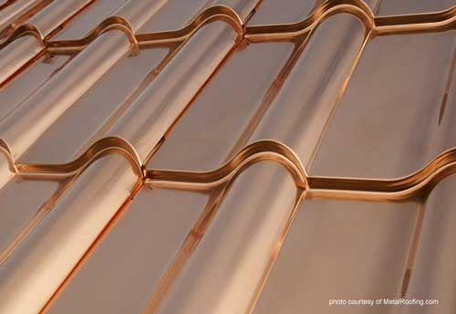 Metallic Metal Roofing Copper Roof Panels Metal Roof Colors Copper Metal Roof Metal Roof