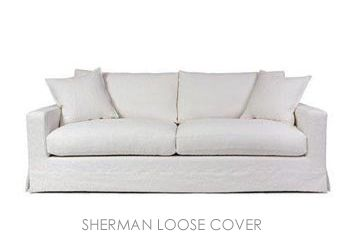 Our Sherman Loose Cover Sofa Made In Melbourne Sofas Direct